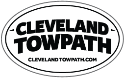 Cleveland Towpath Sticker