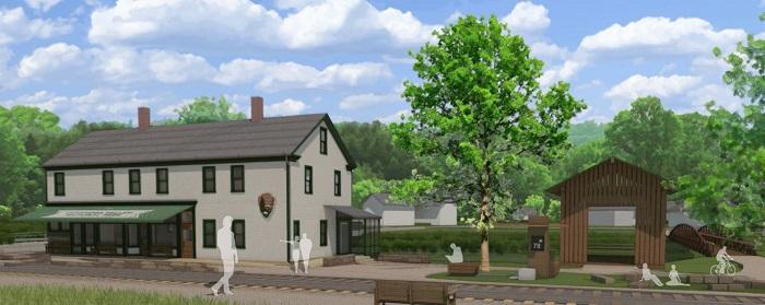 CVNP Visitor Center rendering