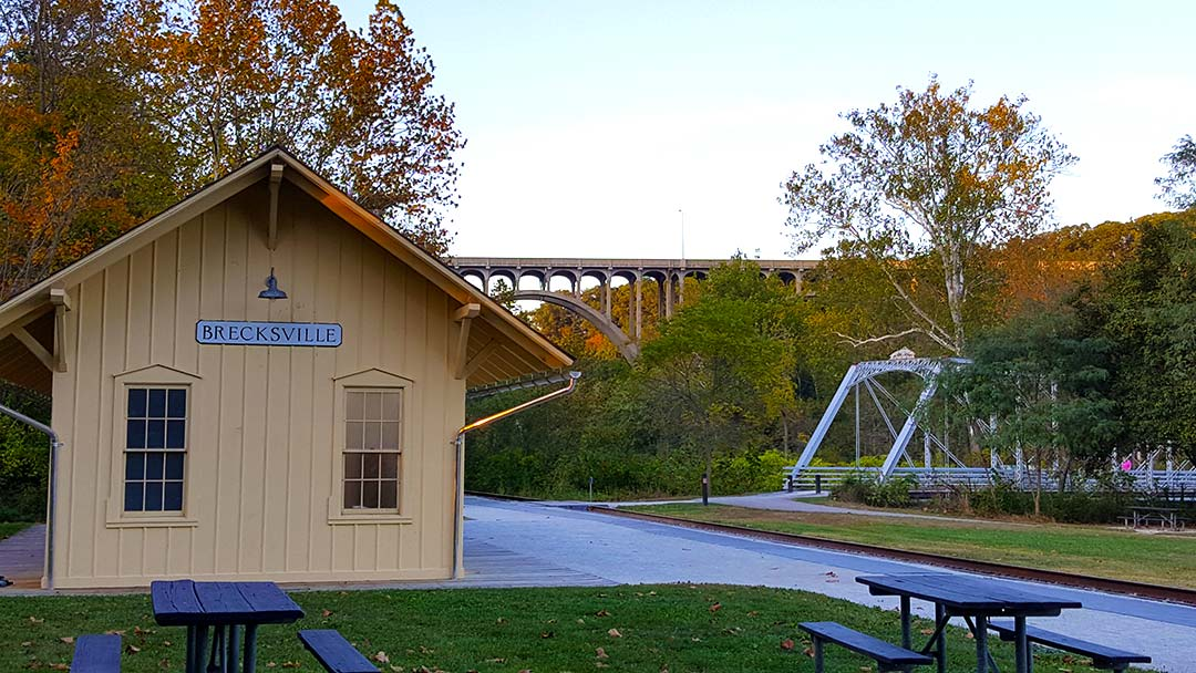 Brecksville Station, Cleveland Towpath, Cuyahoga Valley National Park Oct 2019
